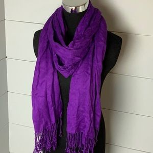 Apt.9 purple scarf
